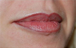 Semi permanent lips